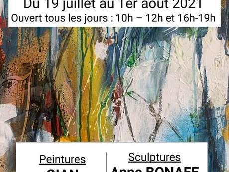 Pinturas de exposición - Esculturas