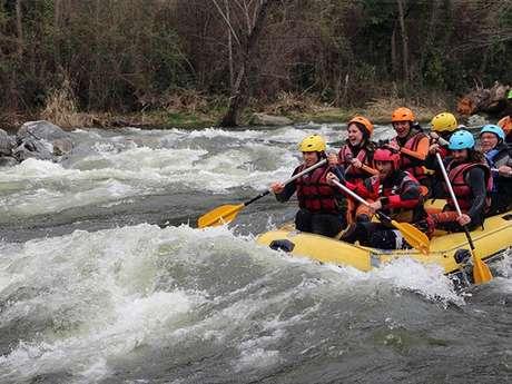 Rafting avec le Bureau des Guides des Pyrénées Ariégeoises