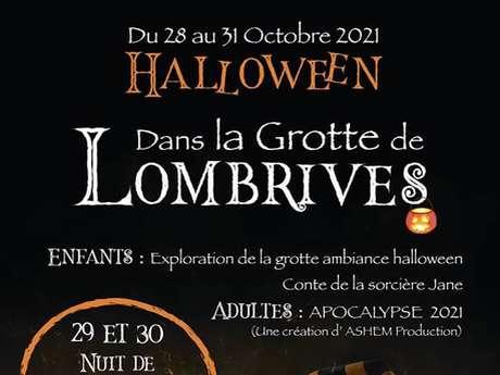 Halloween dans la grotte de Lombrives