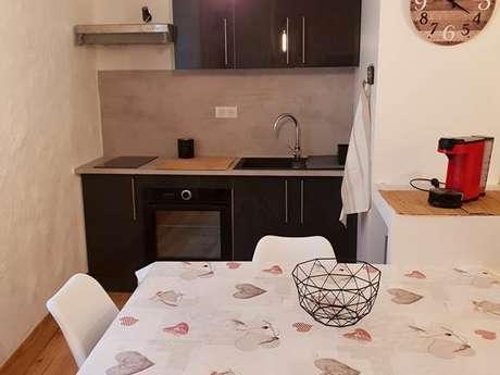 """Appartement """" Peyrisse"""" 4 personnes à Ax-Les-Thermes"""