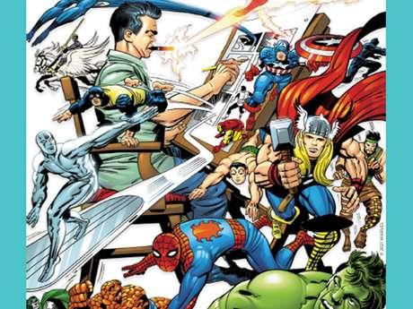 Exposition JACK KIRBY ET LES SUPER-HEROS MARVEL