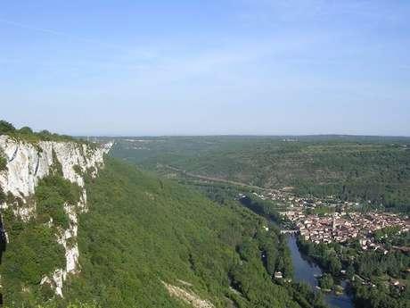 Panorama du Roc d'Anglars
