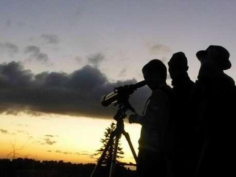 Noche de astronomía en el castillo de Lordat