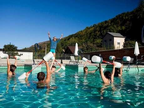(FERMETURE TEMPORAIRE CAUSE COVID 19) Aquagym aux Bains du Couloubret
