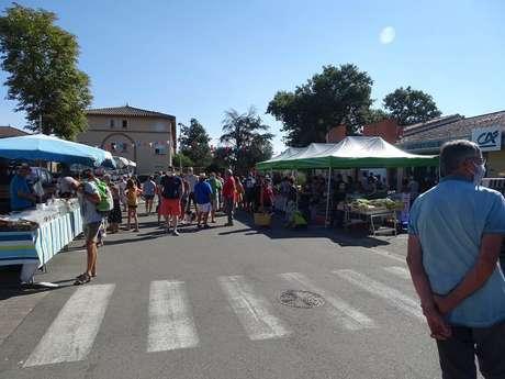 Open air market in Bressols