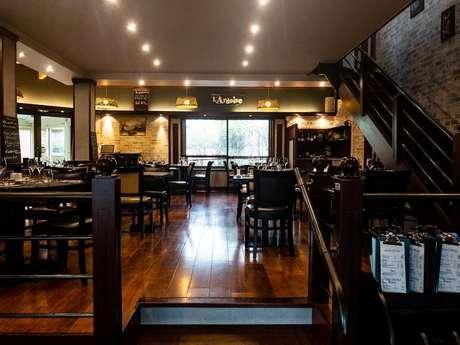 Restaurant L'ardoise (restaurant hôtel deltour)