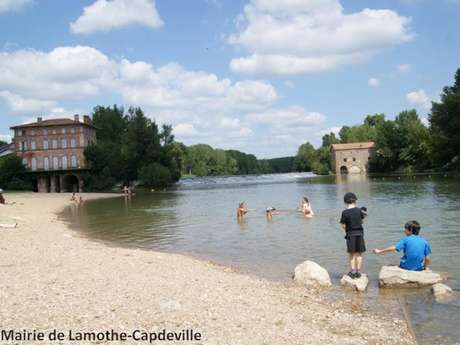 Village of Lamothe-Capdeville