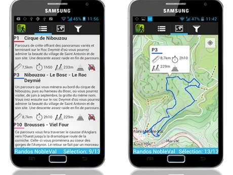 RANDOS NOBLEVAL, l'appli randos pour votre smartphone
