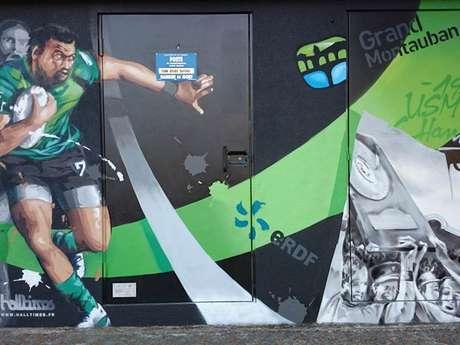 Graff' à Montauban - Les chantiers ERDF