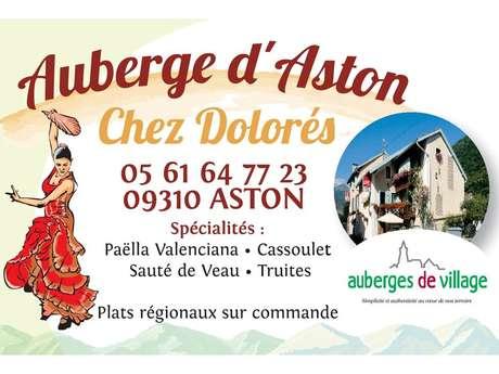 """L'Auberge d'Aston """"Chez Dolorès"""""""