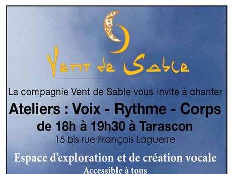 (ANNULE) Ateliers: Voix - Rythme - Corps avec la Cie Vent de Sable