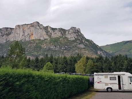 Aire de camping-cars