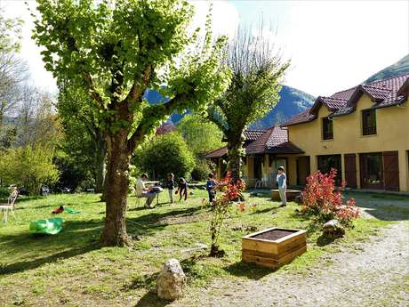 Accomodation centre in Ornolac. Point soleil