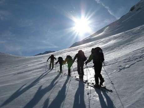 Ski avec Baptiste Sicre