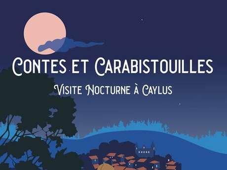 Visite Nocturne aux Flambeaux à Caylus