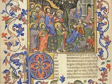 Illuminations in the Middle Ages in Montreal by Sos