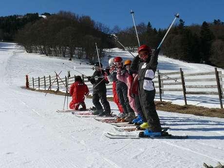 Cours de ski piste, fond et surf à Mijanès