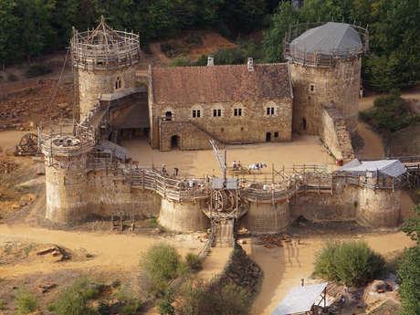 Guédelon, nous bâtissons un château fort