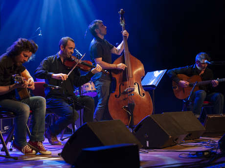 Concert jazz au jardin - Gitché Manito