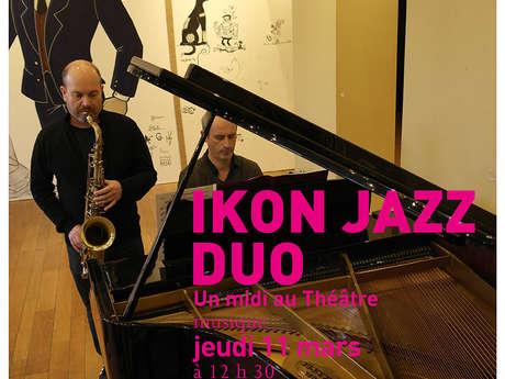 Midi au Théâtre : Ikon Jazz Duo