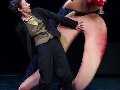 """Semaine de la marionnette par la Compagnie Rouge les Anges """"Emotik"""""""