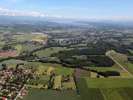 Paysages franco-suisses: Soral - Thairy - Laconnex