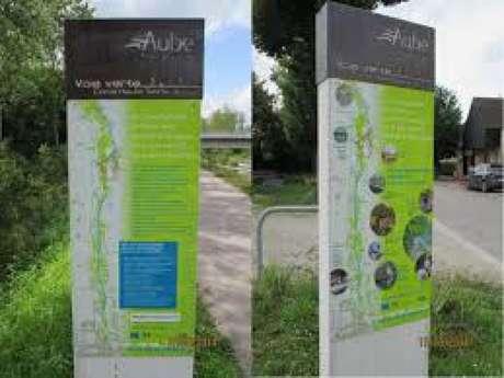 La voie verte du canal de la Haute-Seine