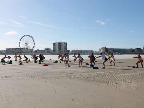 Matinales Toniques : séance abdo/fessiers sur la plage