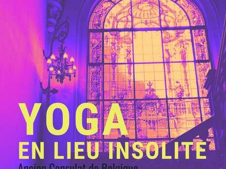 Yoga en lieu Insolite à l'Ancien Consulat de Belgique
