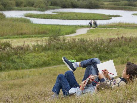 Atelier nature et créativité en famille