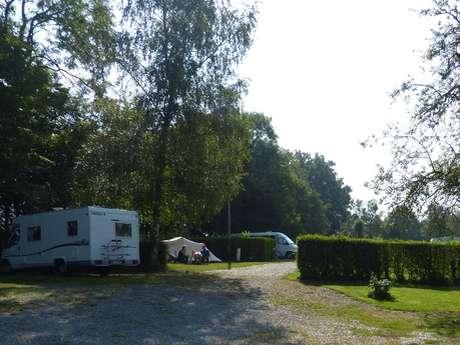 Aire de stationnement et de service du Camping de l'Orival