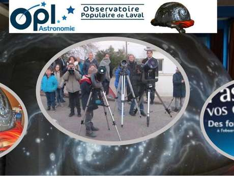OBSERVATOIRE POPULAIRE DE LAVAL - OPL ASTRONOMIE