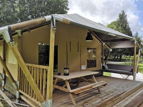 Tente lodge safari