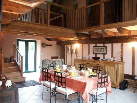Chambres d'hôtes Gîtes de France - GOUZON - 2 chambres - Réf : 23G0641