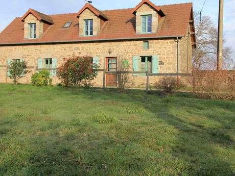 Location Gîtes de France - SAINT PRIEST - 6 personnes - Réf : 23G962