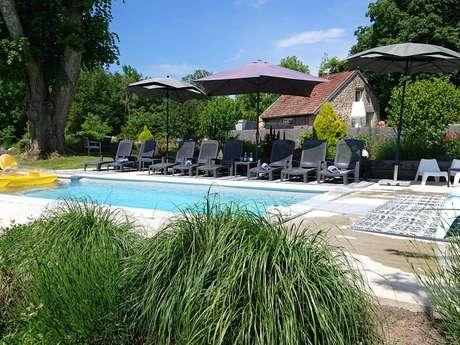 Location Gîtes de France - SAINT VAURY - 14 personnes - Réf : 23G1390