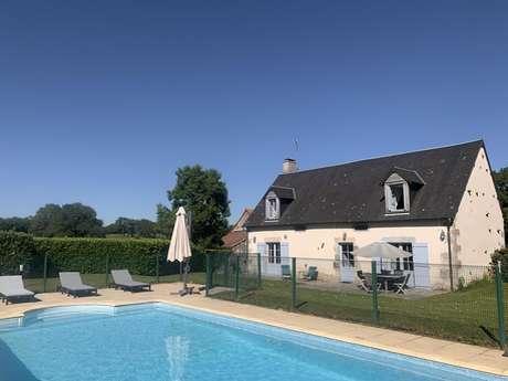 Location Gîtes de France - GOUZON - 6 personnes - Réf : 23G1049