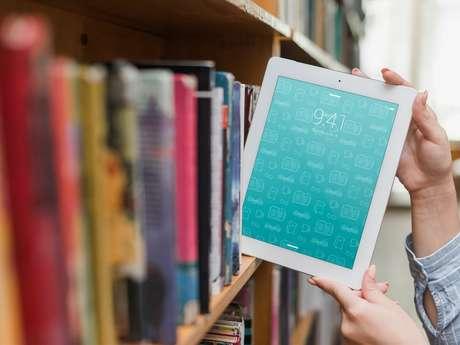 Matinées numériques : découvrir la bibliothèque numérique