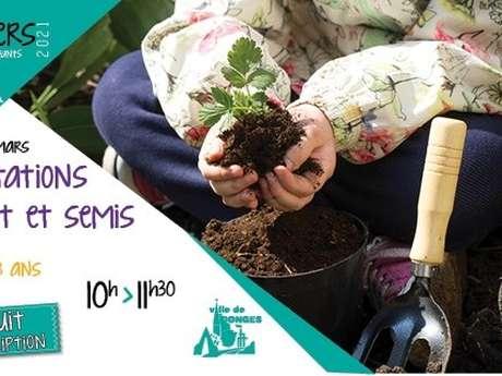 Atelier parents-enfants jardinage
