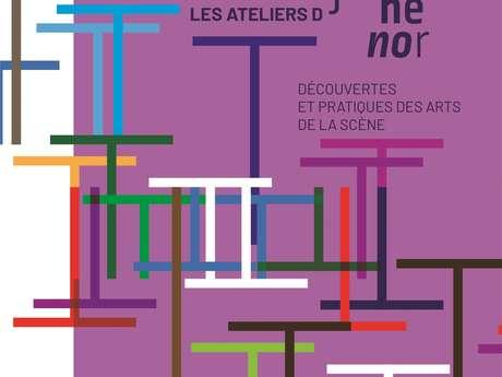 Atelier de pratique artistique, atelier ouvert de découverte, inscription saison 2021-2022
