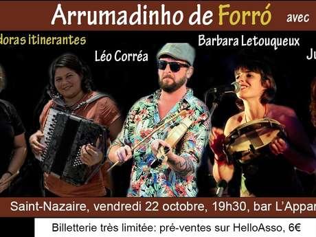 Concert Forró : Léo Corrêa e as trovadoras itinerantes