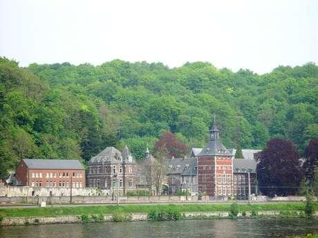 Visite de l'abbaye de Flône
