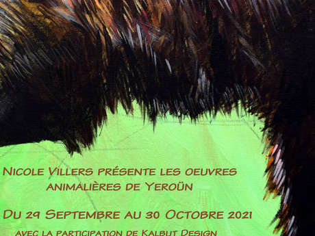 Oeuvres animalières de Yeroün - Exposition