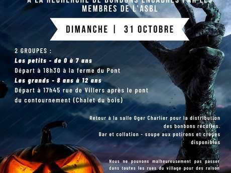 Cortège Halloween - Villers-le-Peuplier