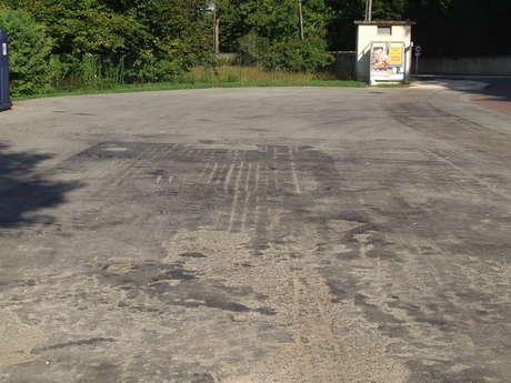 Aire de pique-nique du parking Jean Moulin