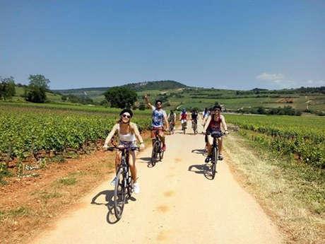 Active Tours : Les vignobles en vélo de Beaune à Mâcon