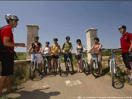 Active Tours : Journée Vélo et Vins Côte de Beaune