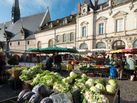 Beaune - Visite du marché