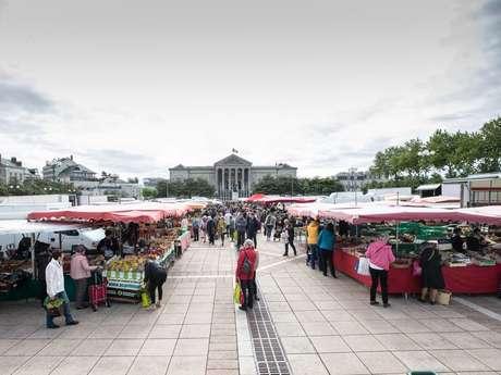 Grand marché du centre-ville