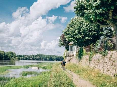 Balade à vélo autour de la zone horticole de Ste-Gemmes-sur-Loire